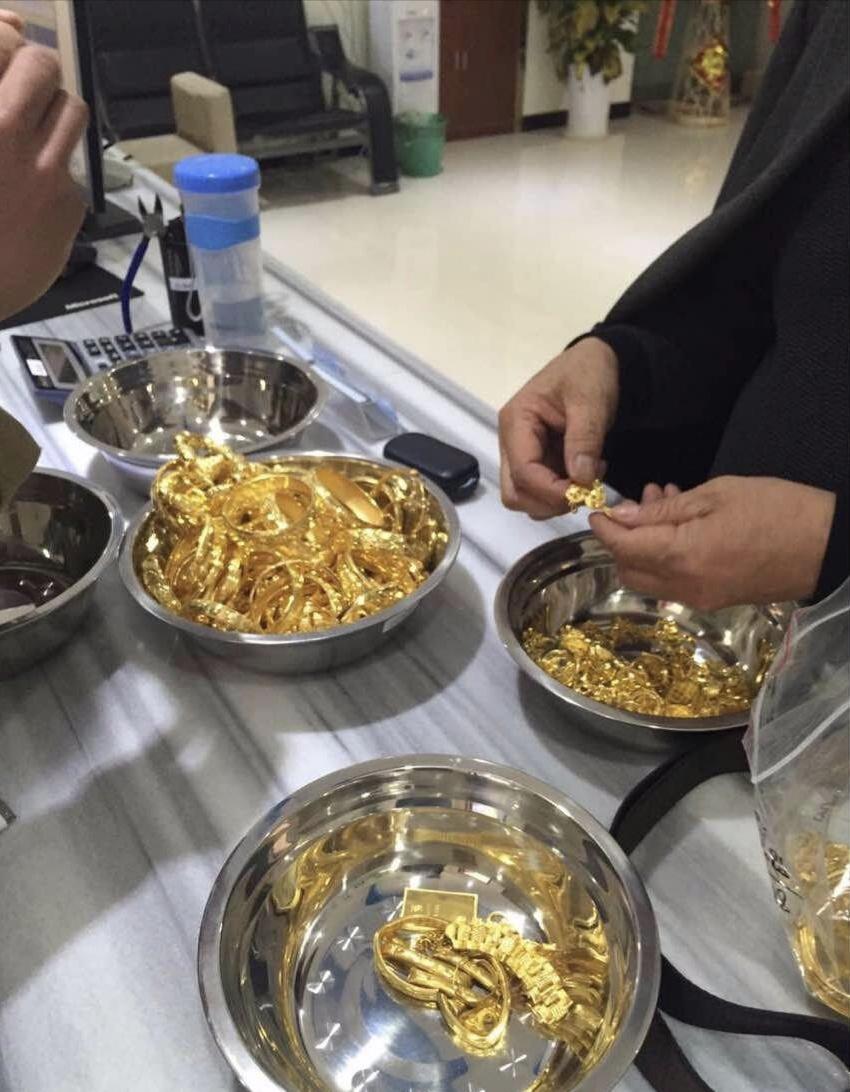 大港区黄金回收讲牌子吗大港区黄金回收价格