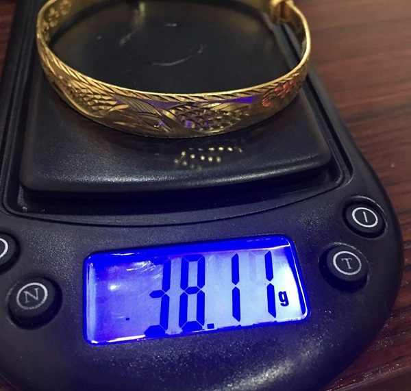 静海区 黄金手镯价格是多少钱?周大福黄金哪里回收