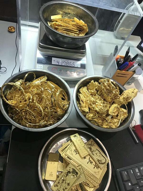 天津回收黄金长期收购欢迎电话微信联系