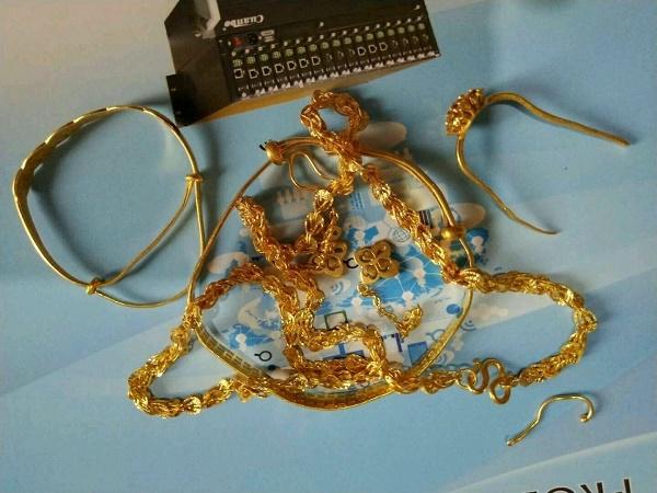 塘沽哪里回收坏旧黄金首饰塘沽区今天黄金回收多少钱一克