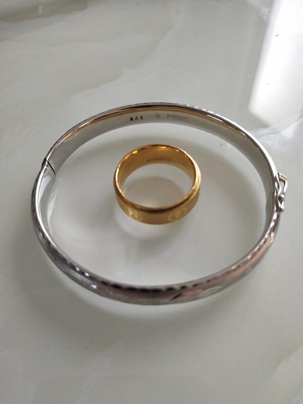 天津回收各类铂金首饰天津旧铂金手镯能卖多少钱