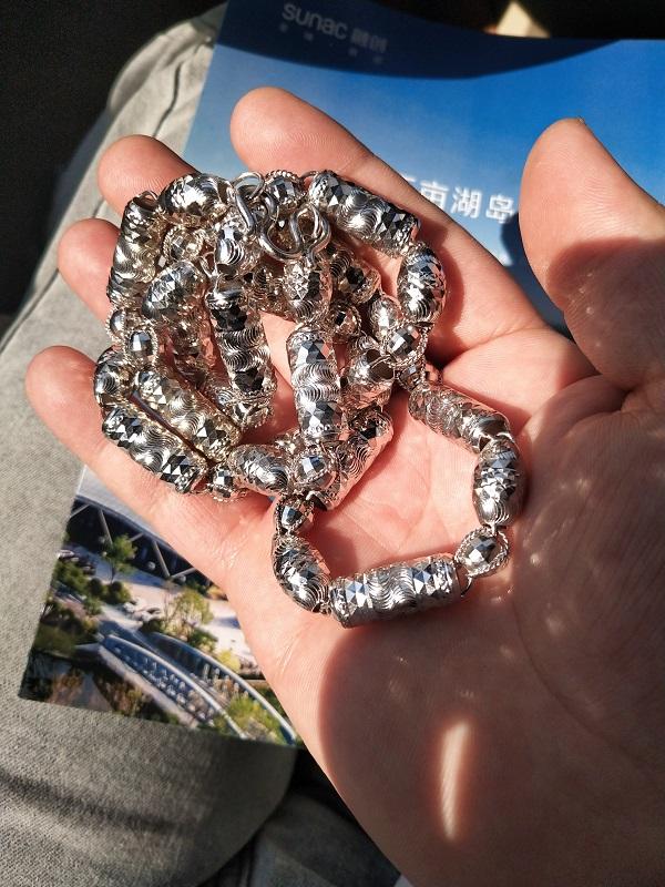 天津旧钯金首饰怎么回收天津回收pd990项链多少钱一克